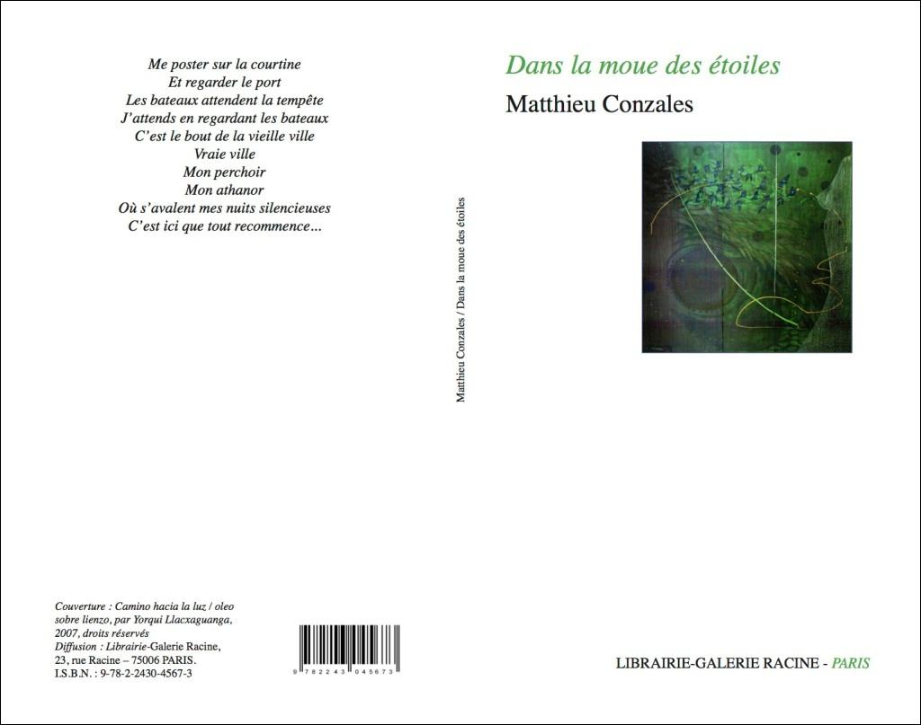 Matthieu CONZALES - Dans la moue des étoiles