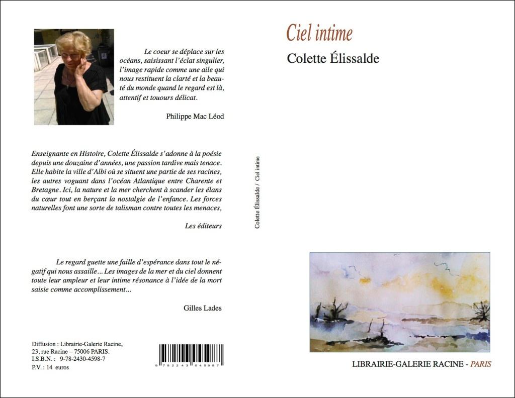 Colette ELISSALDE - Ciel intime