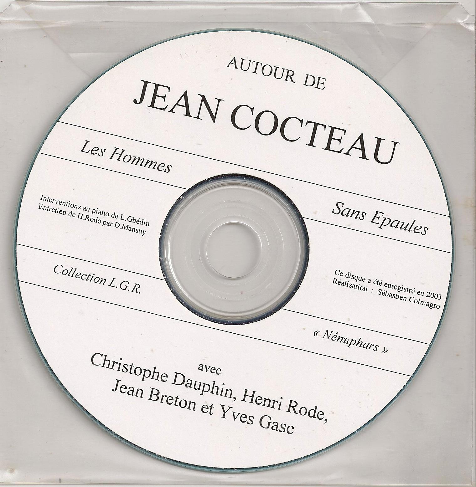 Poésie sonore - Disque Cocteau