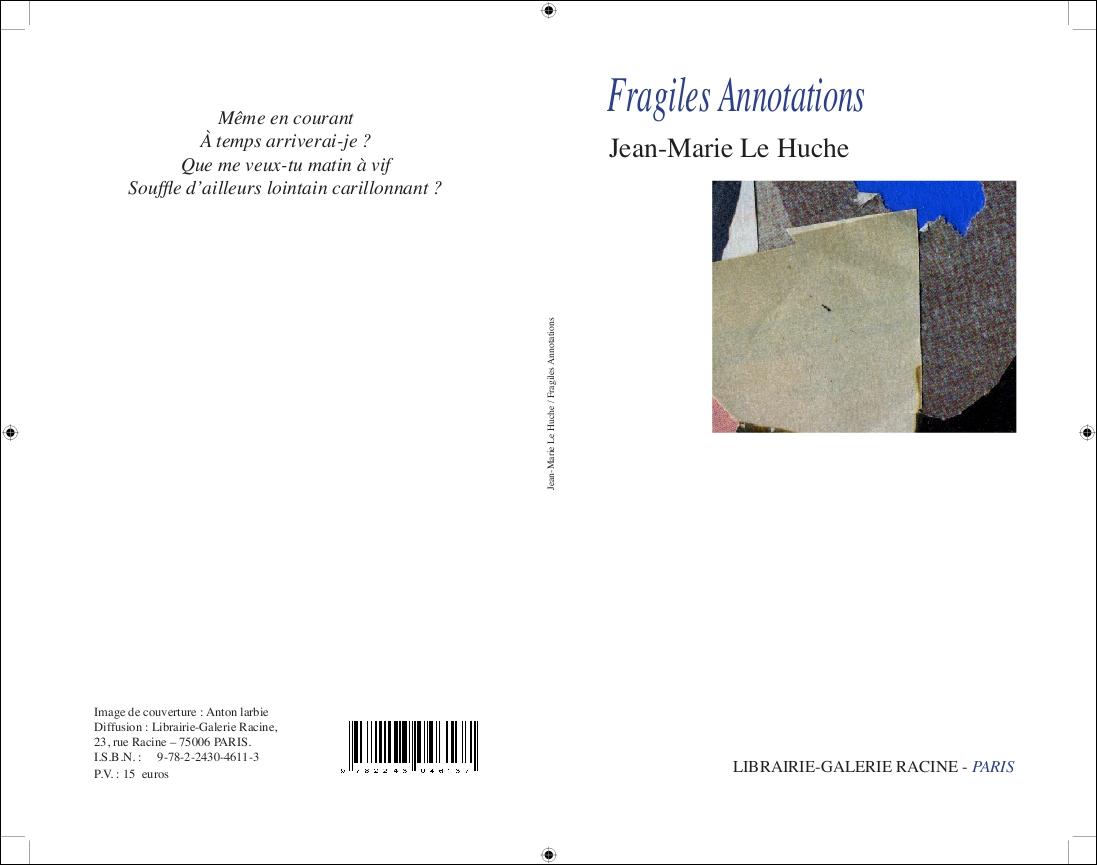 couv Le Huche Fragiles Annotations II
