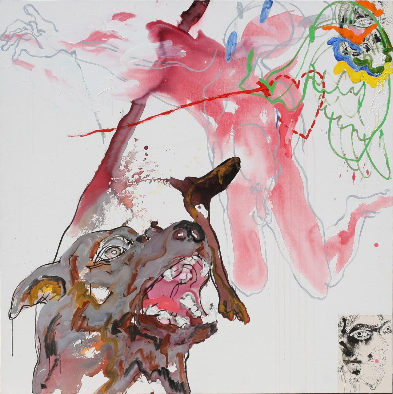 Lionel Lathuille-Annonciation au chien-2008