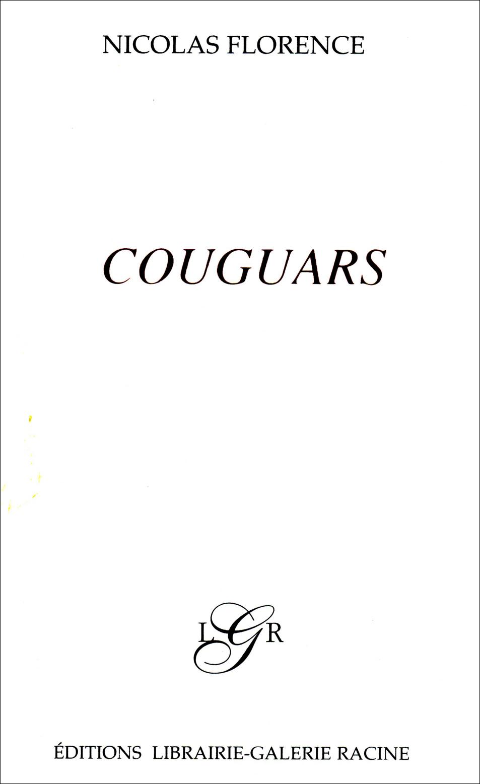 Nicolas Florence - Cougars