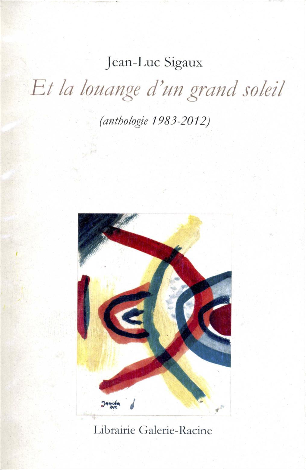 Jean-Luc Sigaux - anthologie