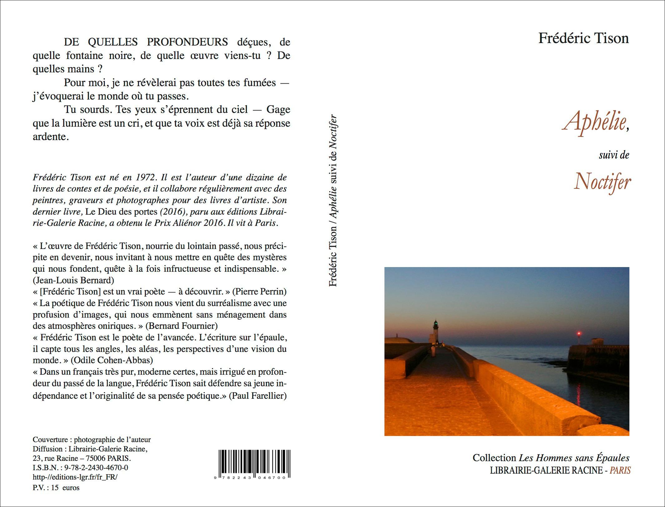 Frederic TISON - Aphélie