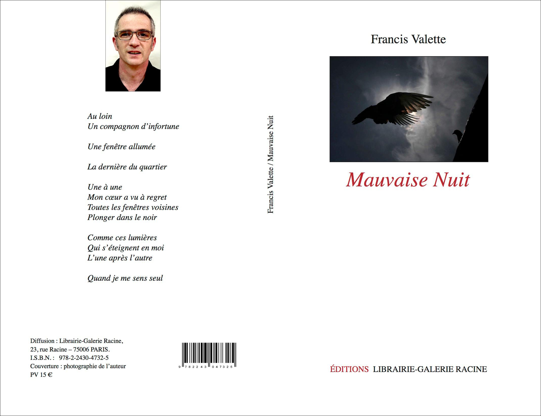 Francis VALETTE - Mauvaise Nuit