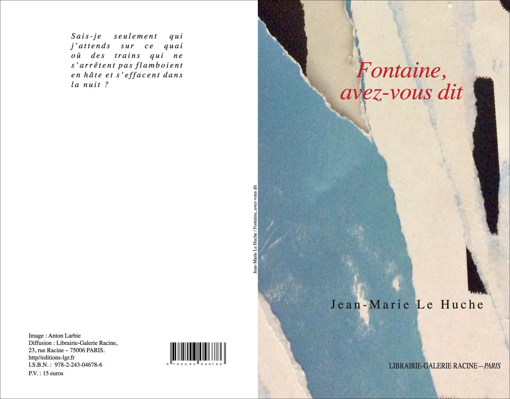 LE HUCHE Jean Marie - Fontaine