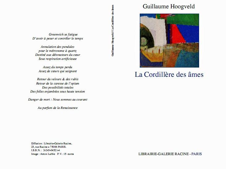 Guillaume Hoogveld - La Cordillère des âmes