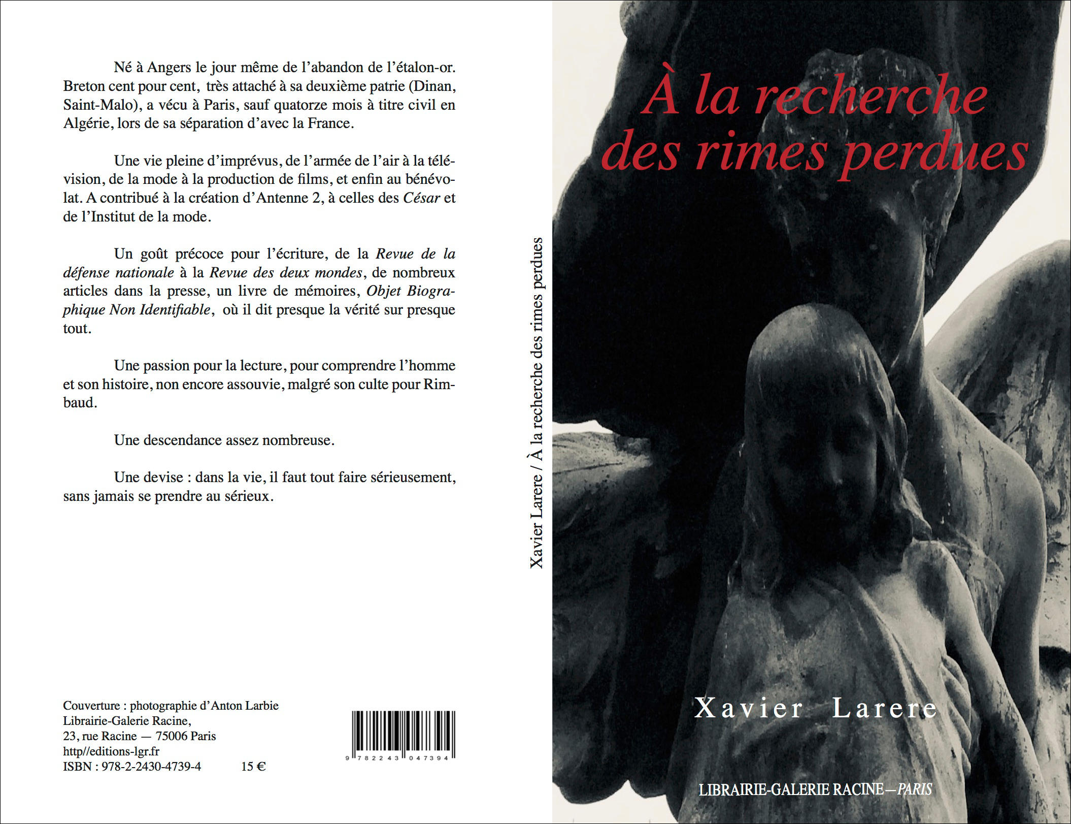 Xavier LARERE - A la recherche des rimes perdues