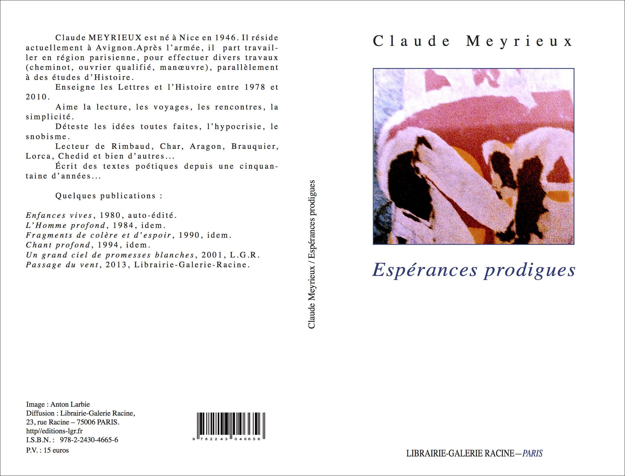 Claude MEYRIEUX - Espérances prodigues